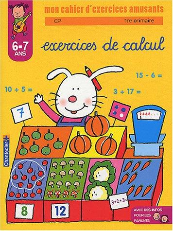9782803442768: Exercices de calcul 6-7 ans