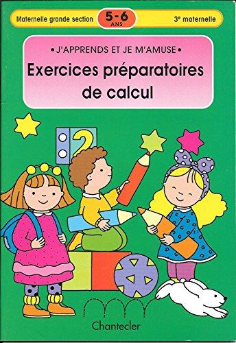9782803443369: Cahier de jeux et d'exercices : ex. préparatoires au calcul 5-6 ans
