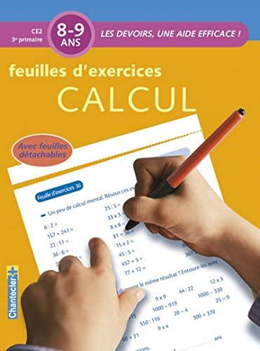 9782803448418: Les devoirs - Feuilles d'ex. Calcul (8-9 a.)