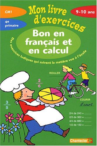 9782803449217 Bon En Francais Et En Calcul Cm1 Mon Livre