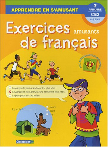 9782803449330: Exercices amusants de français CE2