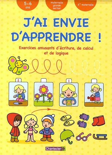 9782803450589: J Ai Envie d Apprendre 5-6 a Ecriture Calcul Logique