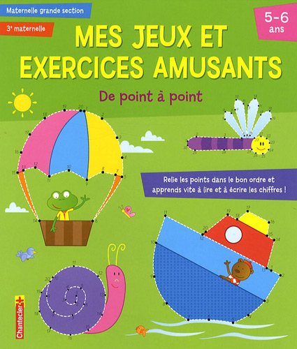 MES JEUX EXERCICES AMUSANTS 5 6 ANS POIN: COLLECTIF