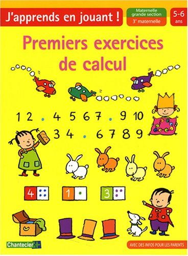 9782803451180: Premiers exercices de calcul maternelle grande section