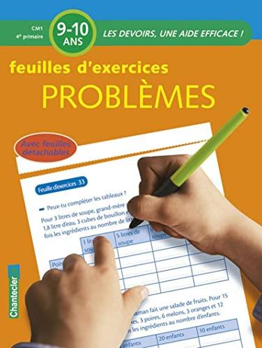 9782803452675: Feuilles d'exercices Problèmes Primaire CM1 : 9-10 ans