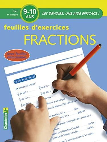 Fractions CM1 (Les devoirs) - Vermeulen, Moniek