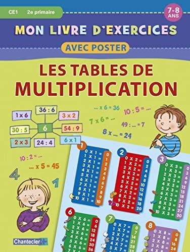 9782803453962 Mon Livre D Exercices Avec Poster Tables De
