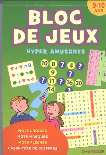 BLOC DE JEUX HYPER AMUSANTS 9 10 ANS: COLLECTIF