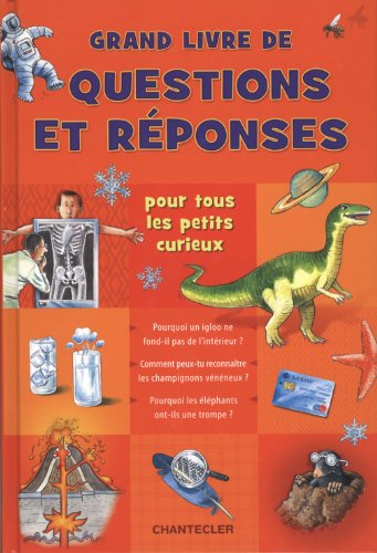 9782803454105: Grand livre de questions et réponses