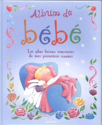 9782803454112: album de bebe (bleu)