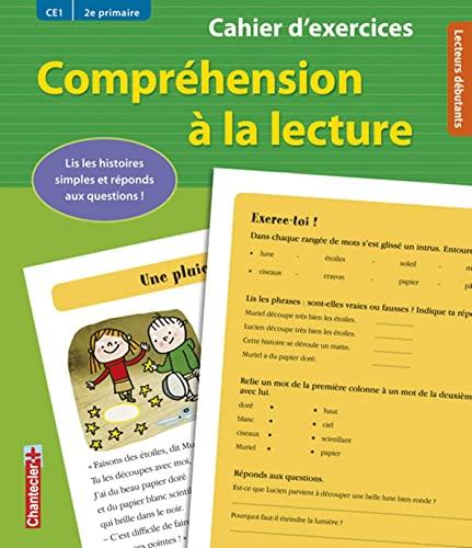 9782803454716: compréhension à la lecture ; CE1 / 2e primaire ; cahier d'exercices