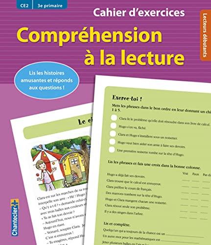 9782803454730: Cahier d'exercices Compréhension à la lecture (CE2 3e primaire) (rose): Lis les histoires amusantes et réponds aux questions !