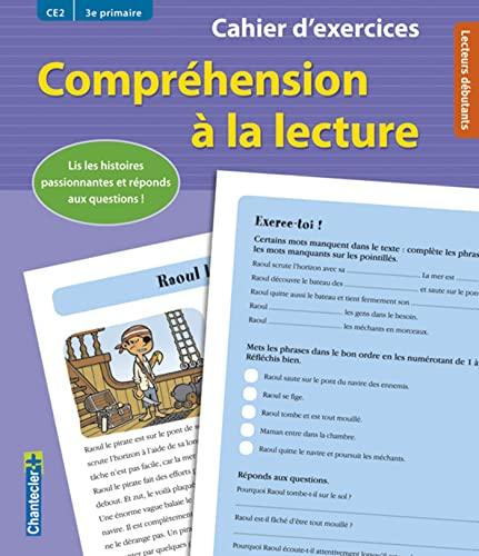 9782803454747: compréhension à la lecture ; CE2 / 3e primaire ; cahier d'exercices