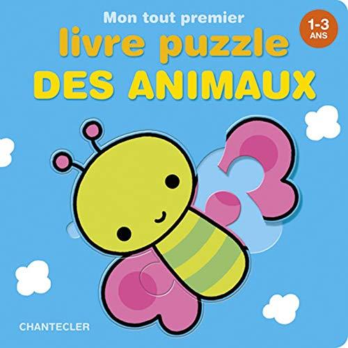 9782803454938: Mon tout premier livre puzzle des animaux 1-3 ans