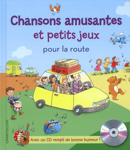 9782803455652: Chansons amusantes et petits jeux pour la route (1CD audio)