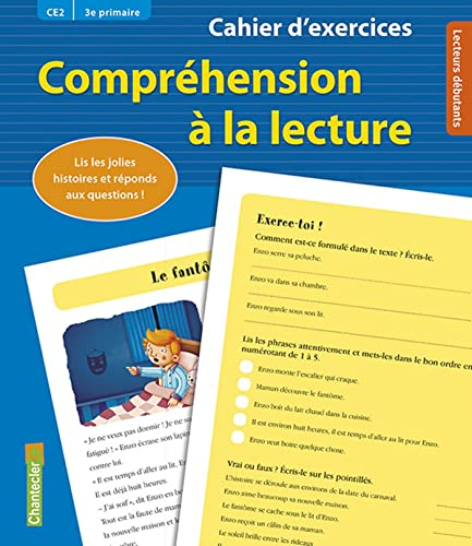 COMPREHENSION LECTURE CE2 3E PRIM BLEU: CAHIER EXERCICES