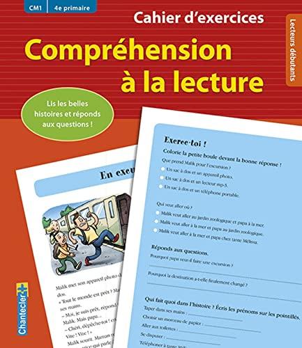 9782803456611: Cahier d'exercices Compréhension à la lecture (CM1 4e primaire) (rouge): Lis les histoires captivantes et réponds aux questions !