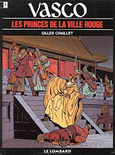 9782803610594: Vasco, tome 12 : Les Princes de la ville rouge