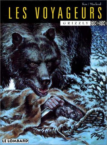 9782803612185: Les voyageurs, Grizzly