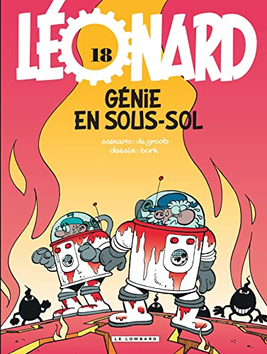9782803617166: Léonard - tome 18 - Génie en sous-sol