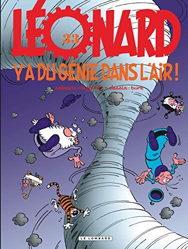 9782803618675: Léonard, tome 33 : Y a du génie dans l'air !