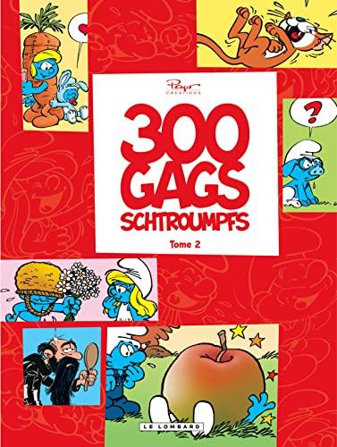 300 gags schtroumpfs - tome 2 - 300 gags schtroumpfs 2: Peyo