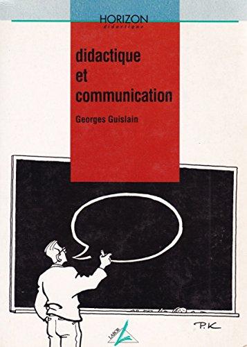 9782804005863: Didactique et communication