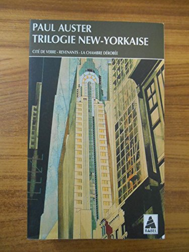 9782804006600: Trilogie new-yorkaise