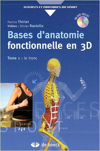 9782804101169: bases d'anatomie fonctionnelle par la 3D