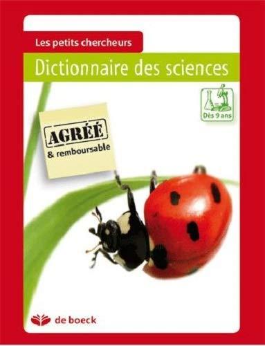 9782804105396: dictionnaire des sciences
