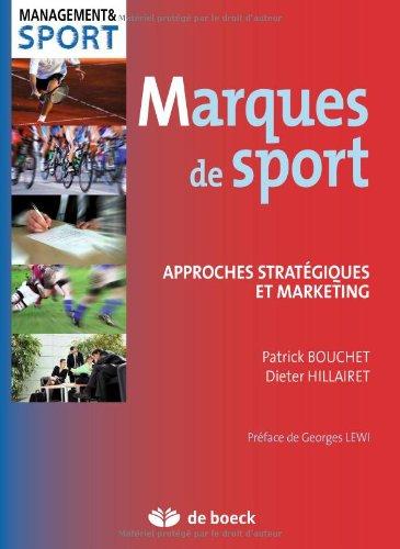 9782804106287: Marques de sport : Approches strat�giques et marketing