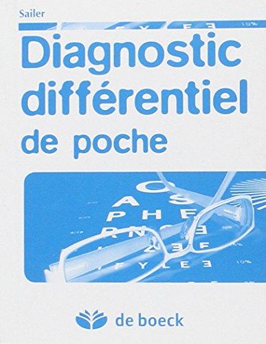9782804107918: diagnostic differentiel de poche
