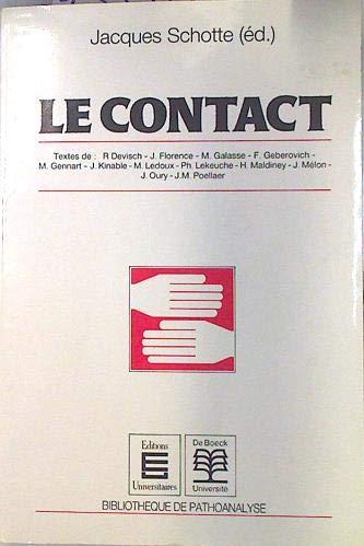 9782804113070: Le contact