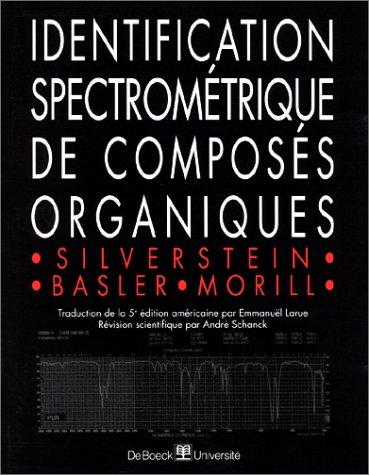 9782804124632: Identification spectrométrique de composés organiques