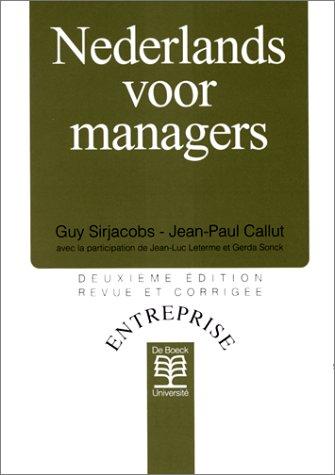 9782804125110: Nederlands voor managers
