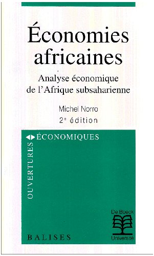 9782804127572: Economies africaines (French Edition)