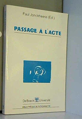 9782804127763: Passage à l'acte
