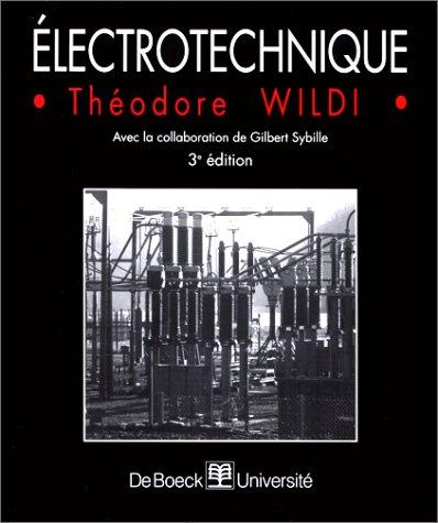 9782804131715: L'électrotechnique