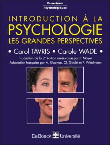 Introduction ˆ la Psychologie.: TAVRIS , Carol