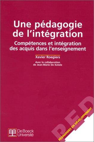 9782804134457: Pédagogie de l'intégration