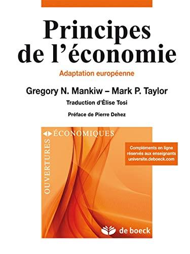 Principes de l'économie : Adaptation européenne: Mankiw, Gregory N.,