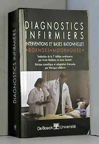 9782804137366: Diagnostics infirmiers. interventions et bases rationnelles
