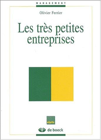 9782804141196: Les très petites entreprises
