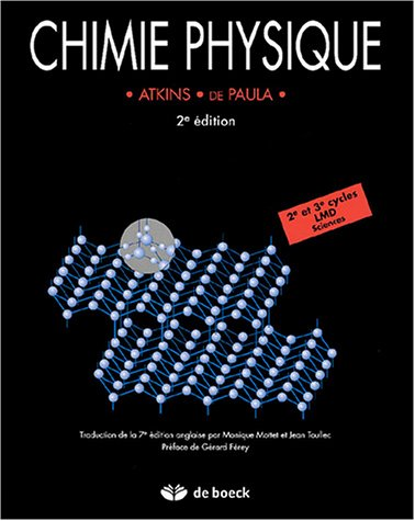 9782804145392: Chimie physique