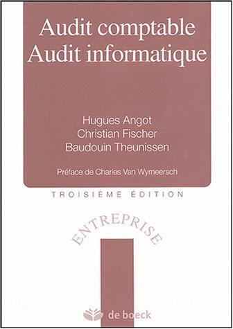 9782804146344: Audit comptable, Audit informatique