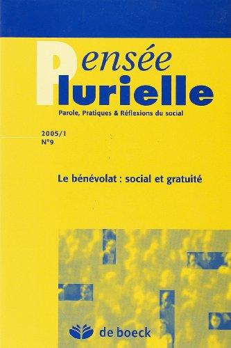 9782804147402: Pensee Plurielle 2005/1 N.9
