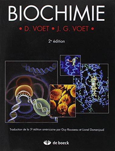 Biochimie: D. VOET - J. G. VOET