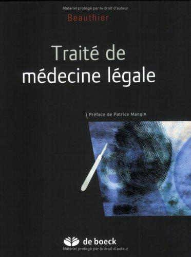 9782804147983: Traité de médecine légale