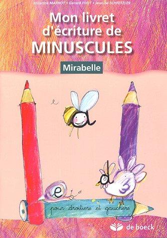 9782804148195: Mon livret d'écriture de minuscules (French Edition)