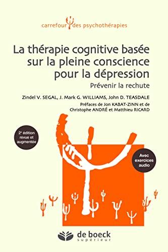9782804150532: Thérapie cognitive basée sur la pleine conscience pour la dépréssion